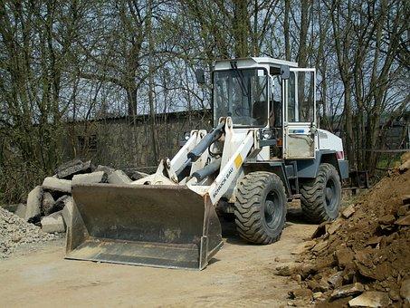 Wheel Loader, Vehicle, Construction Vehicle