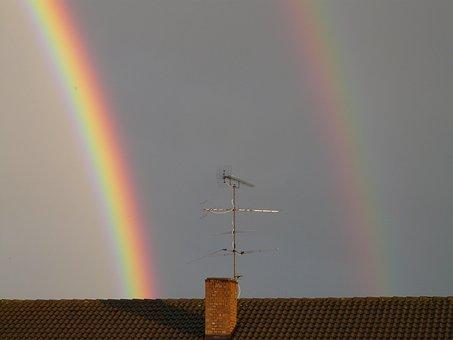 Secondary Rainbow, Double Rainbow, View Details