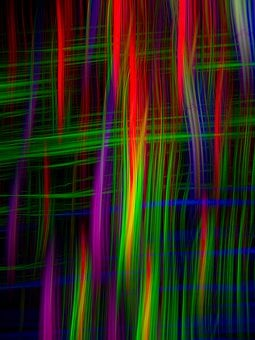 Abstract, Light, Lines, Background, Pattern