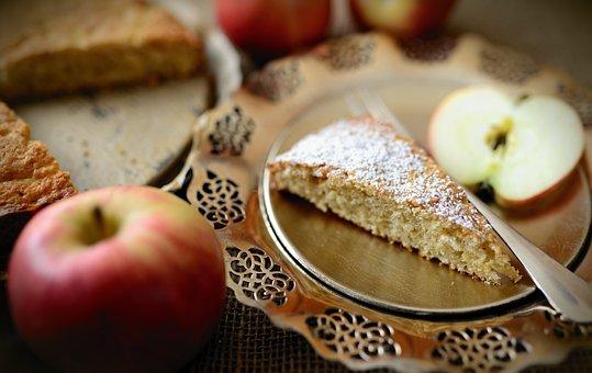 Apple Pie, Dessert, Food, Pastry, Baked, Snack, Cake