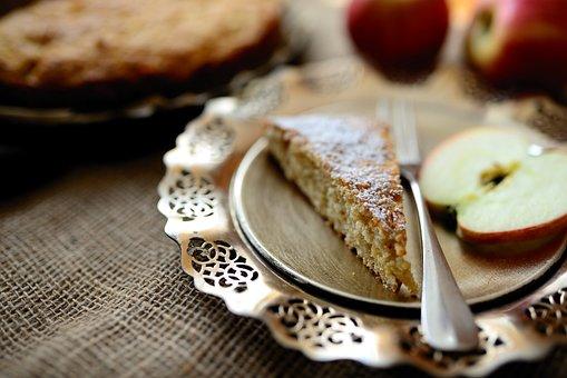 Apple Pie, Dessert, Food, Pastry, Baked, Cake, Slice