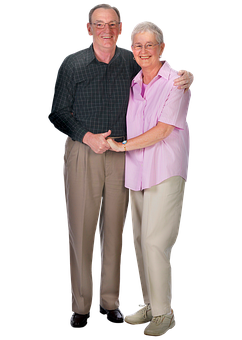Older Couple, Elderly, Man, Woman, Together, Couple