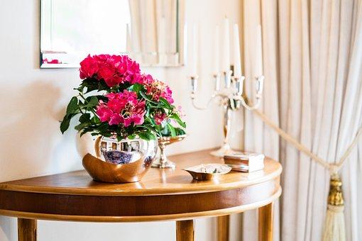 Flowers, House, Spring, Sunshine, Apartment