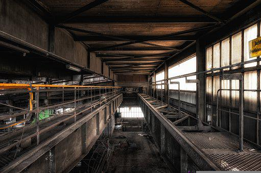 Factory, Industry, Factory Building, Old Factory, Rust