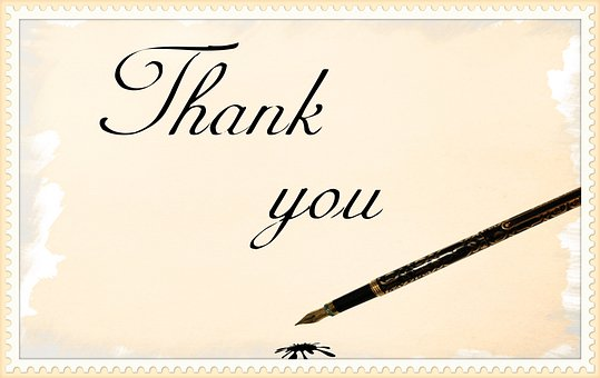 Pen, Thank You, Card, Paper, Feedback, Business, Label