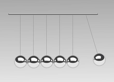 Newton's Cradle, Pendulum, Physics, Toy, Balls, Swing
