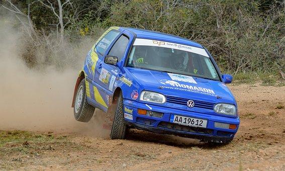 Rally, Car, Speed, Race, Racing, Volkswagen, Race Car