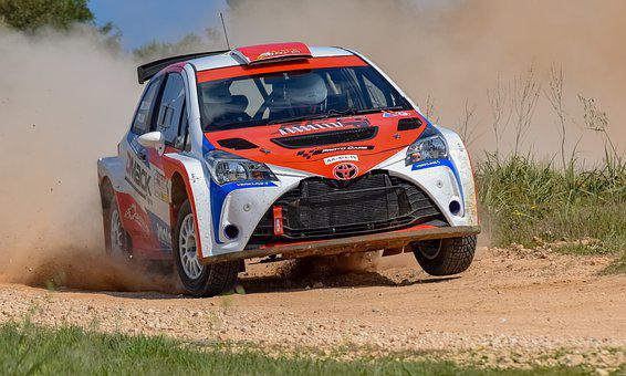 Toyota, Rally, Car, Speed, Race, Race Car, Car Racing