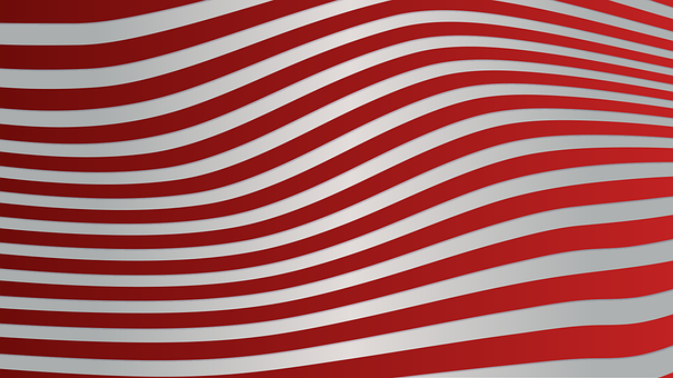 Background, Lines, Red, White, Geometric, Pattern