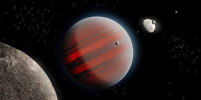 Brown Dwarf, Space, Planet, Jupiter, Exoplanet, Stars