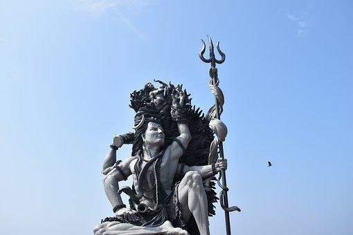 Aazhimala Siva Temple, Shiva, Statue, Sculpture, Sky