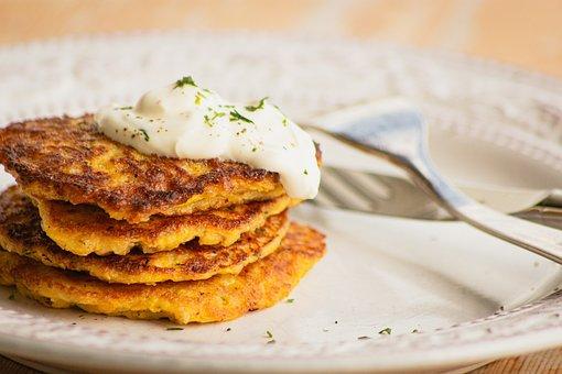 Potatoes, Eat, Vegetarian, Vegan, Kartoffelpuffer