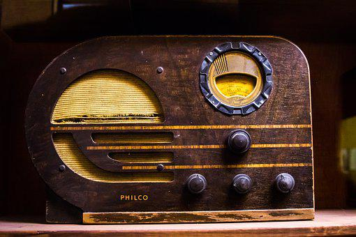 Radio, Broadcast, Sound, Old, Vintage, Retro, Nostalgia