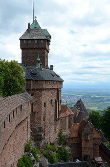 Castle, Building, Tower, Walls, Borg, Germany