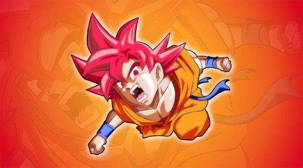 Goku, Fight, Force, Emotion, Speed, Adrenaline, Brave