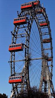 Vienna, Ferris Wheel, Entertainment, Amusement Park