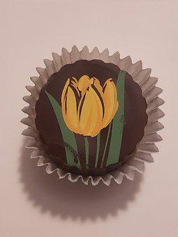 Candy, Chocolate, Sweet, Art, Tulip, Confectionery