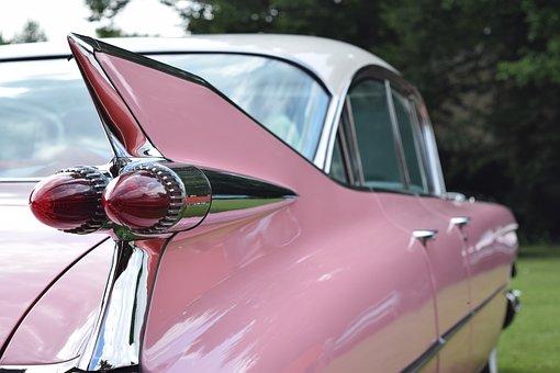 Cadillac, Deville, Eldorado, Chrome, Vehicle, American