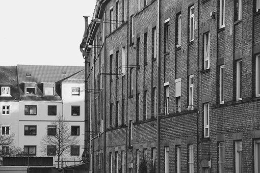 Wall, Clinker, Hauswand, Facade, Bricked, Building