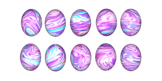 Easter, Easter Eggs, Egg, Colorful, Color, Colored