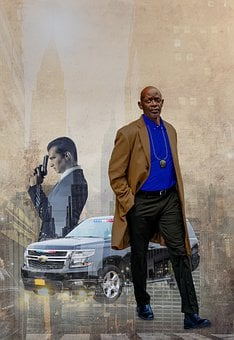 Police, Detective, Car, City, Buildings, Criminal