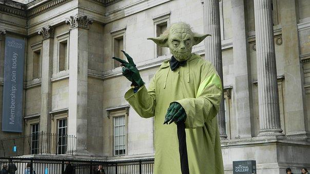 Yoda, Star, Wars, Galaxy, Artfully, Fantasy