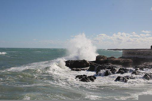 Adria Sea, Italy, Monopoli, Adria, Italian, Beach