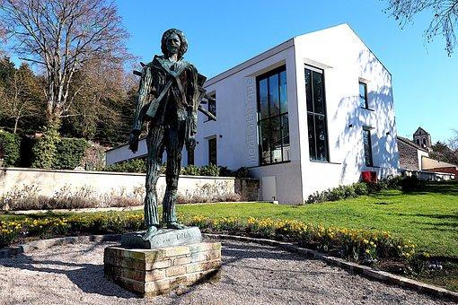 Sculpture, Statue, Monument, Bronze, Vincent Van Gogh