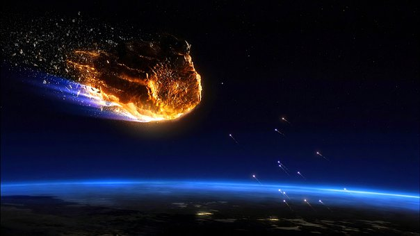 Asteroid, Meteorite, Cosmos, Planet, Space, Astronomy
