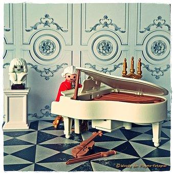 Playmobil, Clicky, Mozart, Austria, Wolfgang, Amadeus