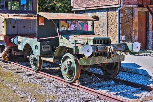 Rail, Station, Train, Self-propelled