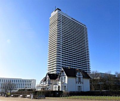 House, Skyscraper, Maritime Hotel, Building