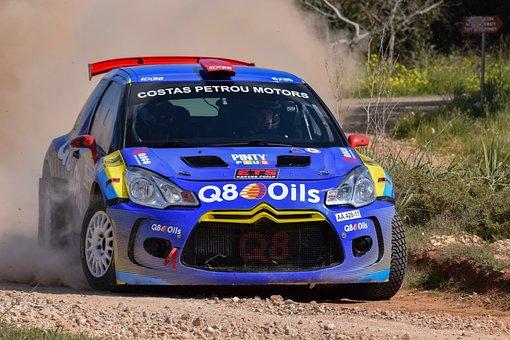 Rally, Car, Speed, Race, Racing, Auto, Sport