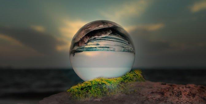 Ball, Sea, Sphere, Nature, Sun, World, Ocean, Water