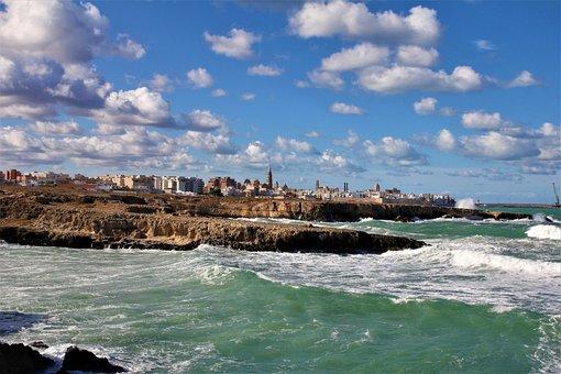 Monopoli, Italy, Puglia, Apulia, Sea, Summer, Landscape