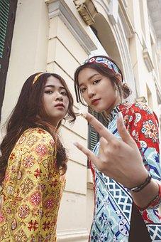 Hiphop, Girl, Female, Rap, People, Vietnam, Group, Old