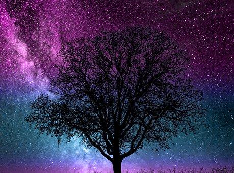 Cosmos, Vibrant, Bright, Vortex, Trance, Background