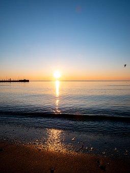 Sea, Ocean, Waves, Nature, Coast, Beach, Sunset, Wave