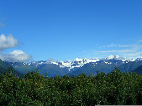 Alaska, Glaciers, Cloud