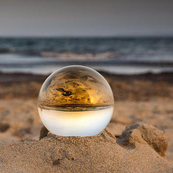 Ball, Reflexion, Reflection, Mirroring, Mirror, Light