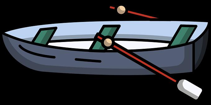 Boat, Row, Oars, Rowboat, Vessel, Boating, Wooden Boat
