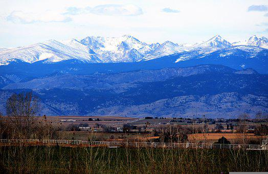 Colorado, Rockies, Landscape, Desert, Breckenridge