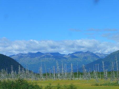 Alaska, Cloud, Mountain