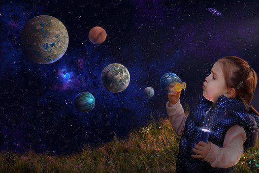Planets, Space, Universe, Cosmos, Stars, Galaxy, Earth
