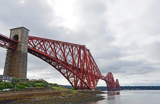 Forth Bridge, Bridge, Architecture, Edinburgh