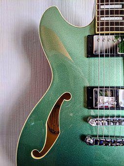 Guitar, Electric Guitar, Strings, Jazz, Music