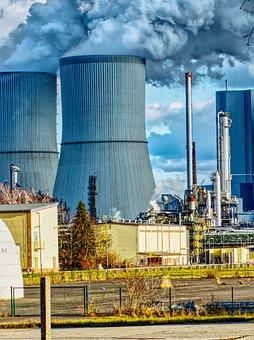 Power Plant, Current, Energy, Idea, Electric, Sky