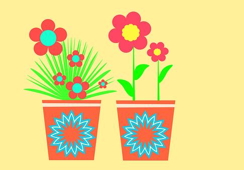 Flowers, Spring, Flowerpot, Plant, Flora, Garden