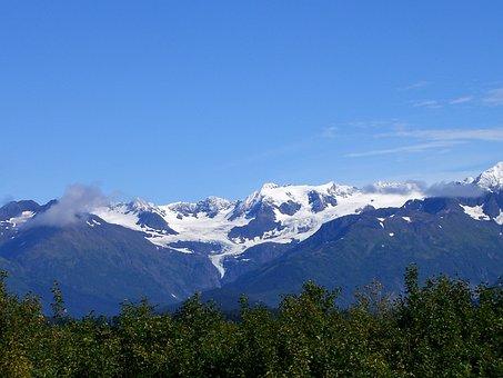 Alaska, Glaciers, Mountain