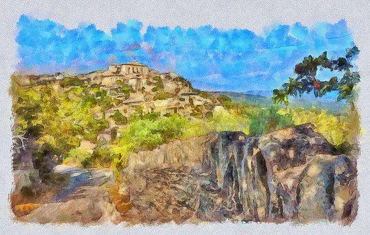 Vacations, France, Provence, Gordes